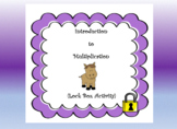 Introduction to Multiplication Word Problems-Lock Box Escape Room
