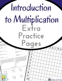 Introduction to Multiplication Workbook: Multiplication Practice Pages