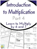 Introduction to Multiplication Workbook Part 4: Multiply b