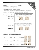 Introduction to Multiplication Workbook Part 2: Multiplying with 2 & 3