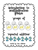 Introduction to Multiplication (groups of & repeated addition)