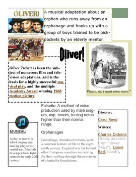 Introduction to Musical Oliver!