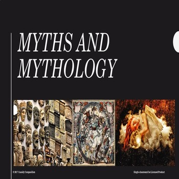 Introduction to Myths and Mythology PowerPoint