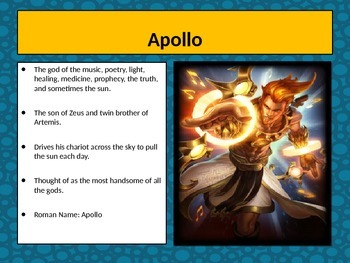 Introduction to Mythology PowerPoint