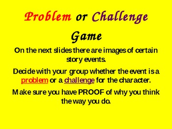 Introduction to Narrative Problem or Challenge!