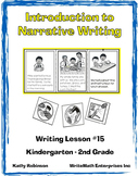 Narrative Writing for Beginners | How to Teach Narrative Writing (K - 2nd)