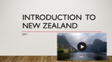 Introduction to New Zealand Lesson