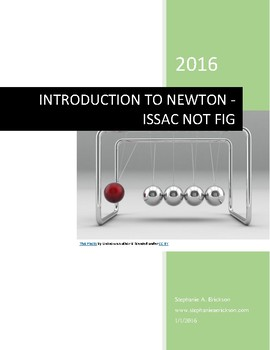 Introduction to Newton's Laws - Issac Not Fig