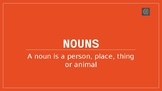 Introduction to Nouns for ESL