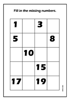 Introduction to Numbers up to 20