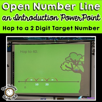 Introduction to Open Number Line: Hop to a Target Number