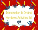 Introduction to Ordinal Number Activity Set