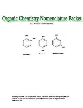 Introduction to Organic Chemistry Nomenclature and Isomers