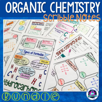Introduction to Organic Chemistry Scribble Notes Bundle