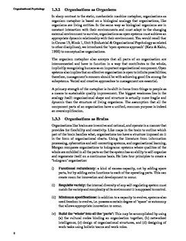 Introduction to Organization Behaviour Unit I Part I