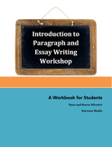 Introduction to Paragraph and Essay Writing