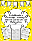 Introduction to Partial Products: Two, Three, Four Digit b