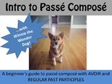 Introduction to Passé Composé with Avoir & Regular Verbs