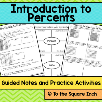 Introduction to Percents Notes