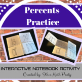 Introduction to Percents and Proportions Foldable