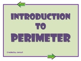 Introduction to Perimeter Lesson by JennyG