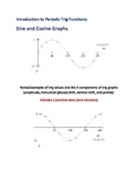 Introduction to Periodic Trig Functions: Sine and Cosine Graphs