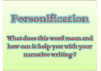 Introduction to Personification