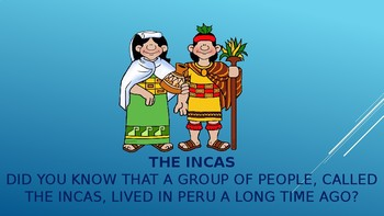 Introduction to Peru, a powerpoint presentation for K-2nd grade