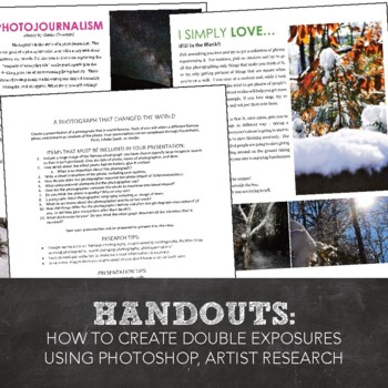 Introduction to Photography: Storytelling through Photography, Photojournalism