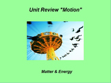 """Introduction to Physics ActivInspire Unit II Review """"Motion"""""""