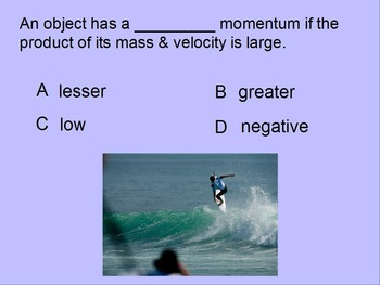 """Introduction to Physics ActivInspire Unit III Review """"Newton's Laws"""""""