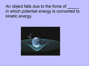 """Introduction to Physics Lesson I & II ActivInspire Review """"Energy"""""""
