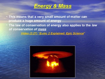 """Introduction to Physics Lesson II PowerPoint """"Energy Conversion & Conservation"""""""