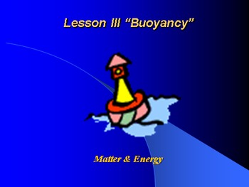 "Introduction to Physics Lesson III PowerPoint ""Buoyancy"""