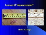 "Introduction to Physics Lesson III PowerPoint ""Measurement"""
