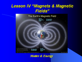 """Introduction to Physics Lesson IV PowerPoint """"Magnets & Ma"""