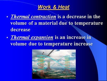 """Introduction to Physics Lesson IV PowerPoint """"Thermal Energy & Matter"""""""