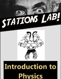 Introduction to High School Physics-Measurements Stations Lab