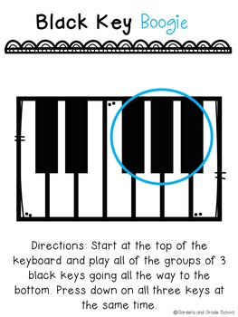 Introduction to Piano Student Packet