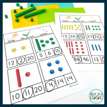 Introduction to Place Value - adapted for autism