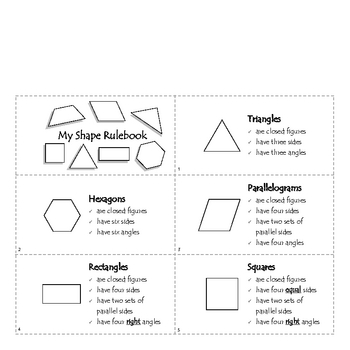Introduction to Plane Shapes