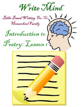 Introduction to Poetry Lesson 1 *Free*