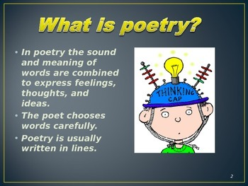 Introduction to Poetry - PPT