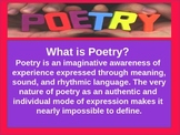 Introduction to Poetry Power Point
