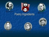 Introduction to Poetry PowerPoint Presentation