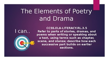 Introduction to Poetry and Drama