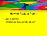 Introduction to Poetry for 9th Grade