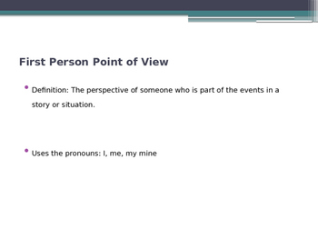 Introduction to Point of View