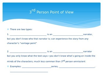 Introduction to Point of View PowerPoint