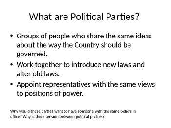 Introduction to Political Parties